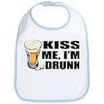 Kiss Me, I'm Drunk (Beer) Bib