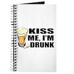 Kiss Me, I'm Drunk (Beer) Journal
