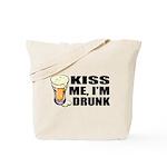 Kiss Me, I'm Drunk (Beer) Tote Bag