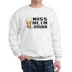 Kiss Me, I'm Drunk (Beer) Sweatshirt