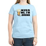 Kiss Me, I'm Drunk (Beer) Women's Light T-Shirt