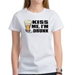 Kiss Me, I'm Drunk (Beer) Women's T-Shirt