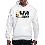 Kiss Me, I'm Drunk (Beer) Hooded Sweatshirt