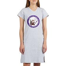 cyborg_ninja_wombat_logo3 Women's Nightshirt