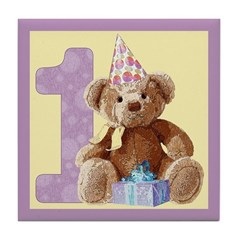 Teddy Bear 1 Tile Coaster