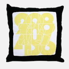 sky-bluebk Throw Pillow