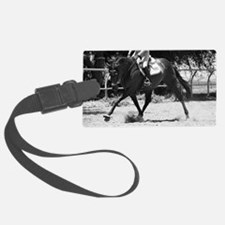 Horse Trot Luggage Tag