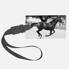 Galloping Horse Luggage Tag