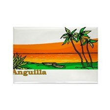 Cute Anguilla Rectangle Magnet