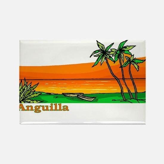 Carribean Rectangle Magnet