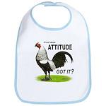It's About Attitude Bib