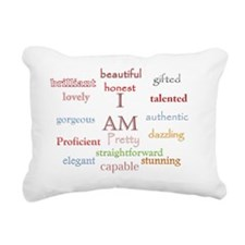 I AM Rectangular Canvas Pillow