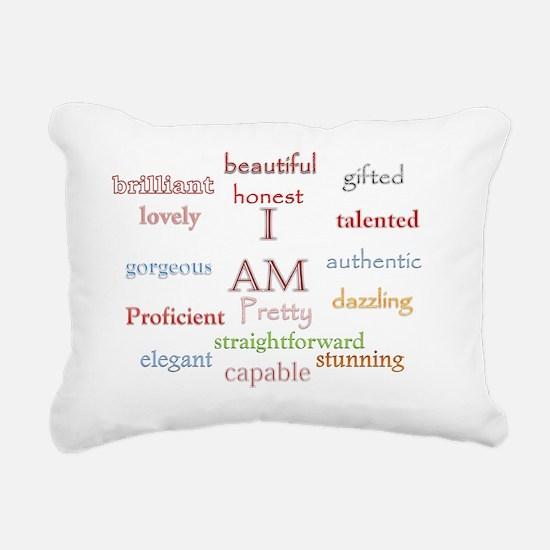 I AM Rectangular Canvas Pillow
