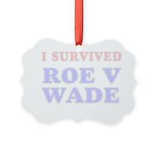 unique pro-life gift Ornament
