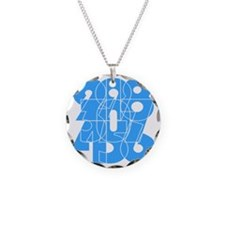 sky-bluelbl-wt Necklace