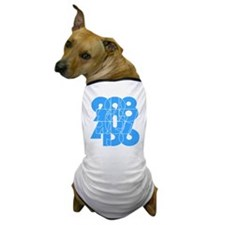 sky-bluelbl-wt Dog T-Shirt