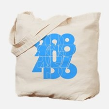 sky-bluelbl-wt Tote Bag