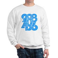 sky-bluelbl-wt Sweatshirt