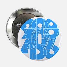 """sky-bluelbl-wt 2.25"""" Button"""