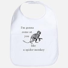 Spider Monkey Bib