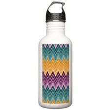 zigzagiph3g Water Bottle