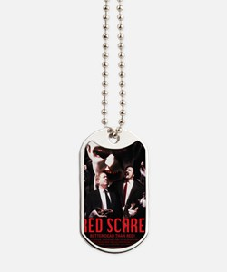 Red Scare Poster Dog Tags