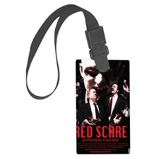 Red Scare Poster Luggage Tag