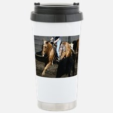 Cutting Horse Stainless Steel Travel Mug
