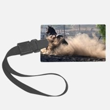 Horse Dust Luggage Tag