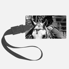 Rope Horse Luggage Tag