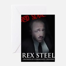 Rex Steel One Sheet Greeting Card
