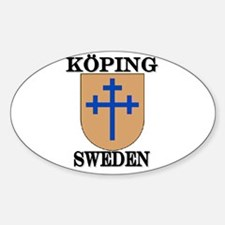 The Köping Store Oval Decal