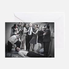 Red Scare Group Shot Greeting Card