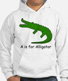 A is for Alligator Hoodie
