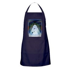 New-Dawn-Buddha-Mandala-Art-Poster Apron (dark)