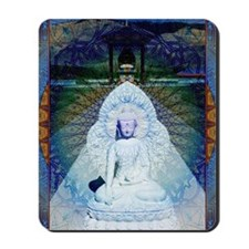 New-Dawn-Buddha-Mandala-Art-Poster Mousepad