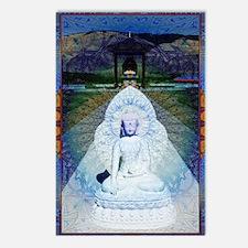 New-Dawn-Buddha-Mandala-A Postcards (Package of 8)