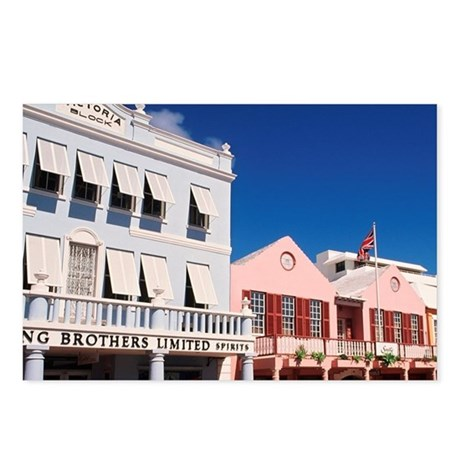 Hamilton, Bermuda: Colorf Postcards (Package of 8)