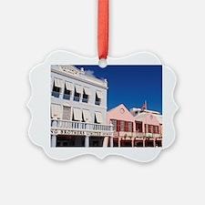 Hamilton, Bermuda: Colorful build Ornament