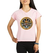 Yule Pentacle Performance Dry T-Shirt