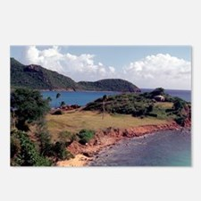 Caribbean, Antigua. Postcards (Package of 8)