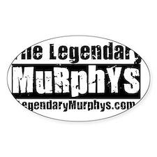 The Legendary Murphys Logo Website Decal
