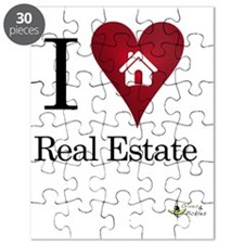 I Heart Real Estate iPad Puzzle