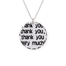 thankyouthankyou Necklace