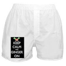 keep ginger black Boxer Shorts