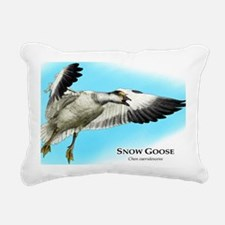 Snow Goose Rectangular Canvas Pillow