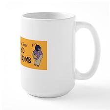 BMan_Some_Days_sticker Mug
