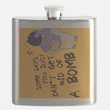 BMan_Some_Days_keychain Flask