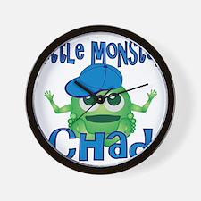 chad-b-monster Wall Clock