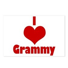 I Love Grammy Postcards (Package of 8)